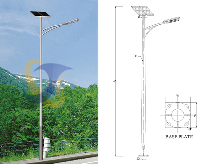 Single Arm Solar Street Light – Safe Energy Engineering